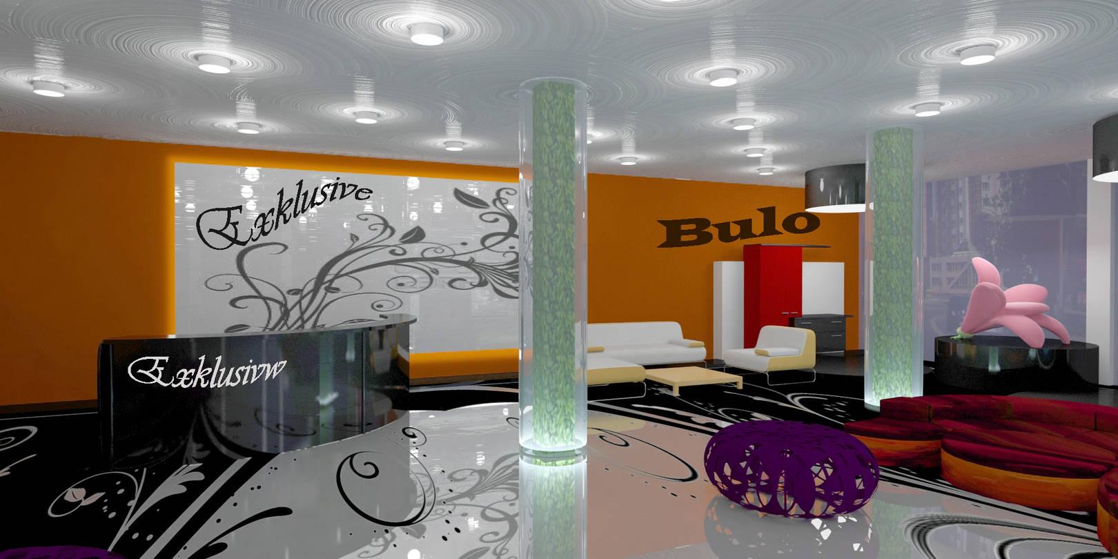 інтер'єр магазину меблів 3ds max