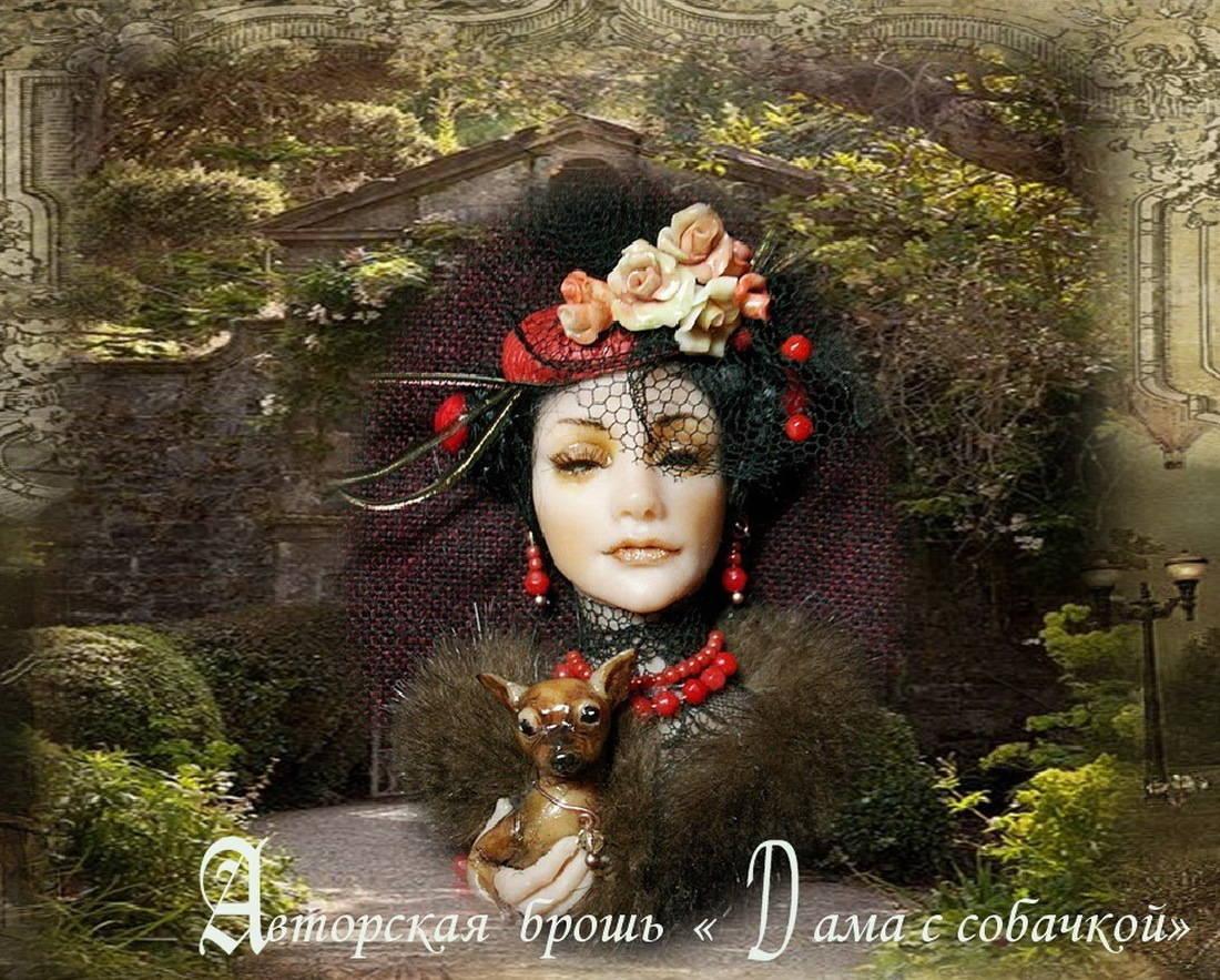 "The fragment of video ""Alena Abramova's magic world"""