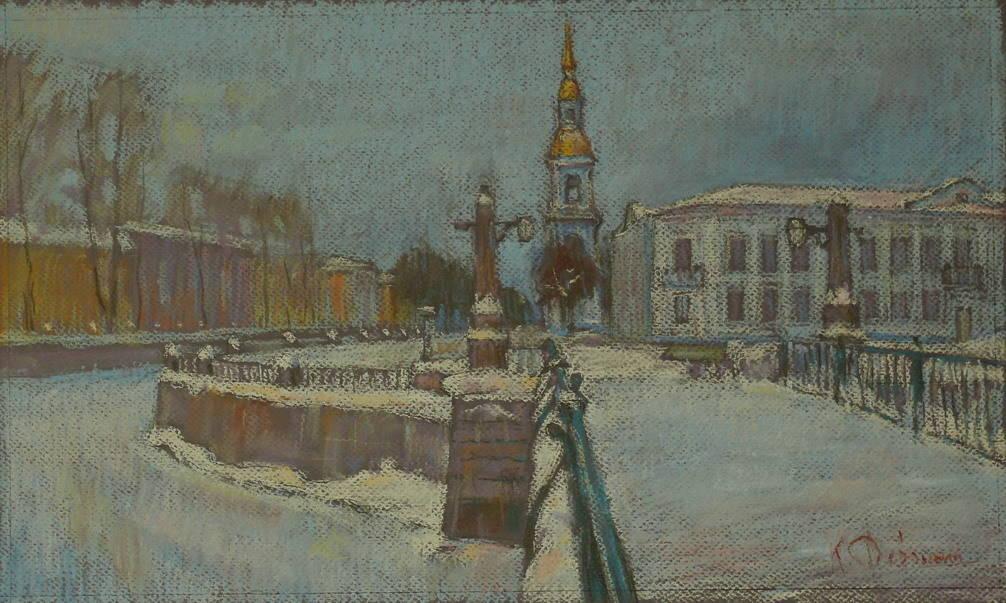 Снежный Петербург