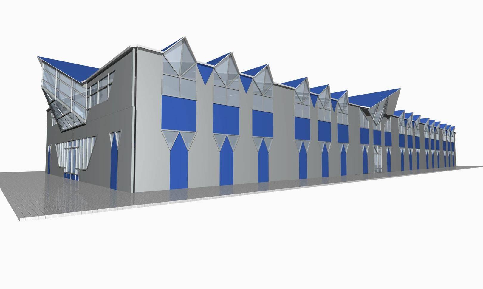 Проект склада-магазина