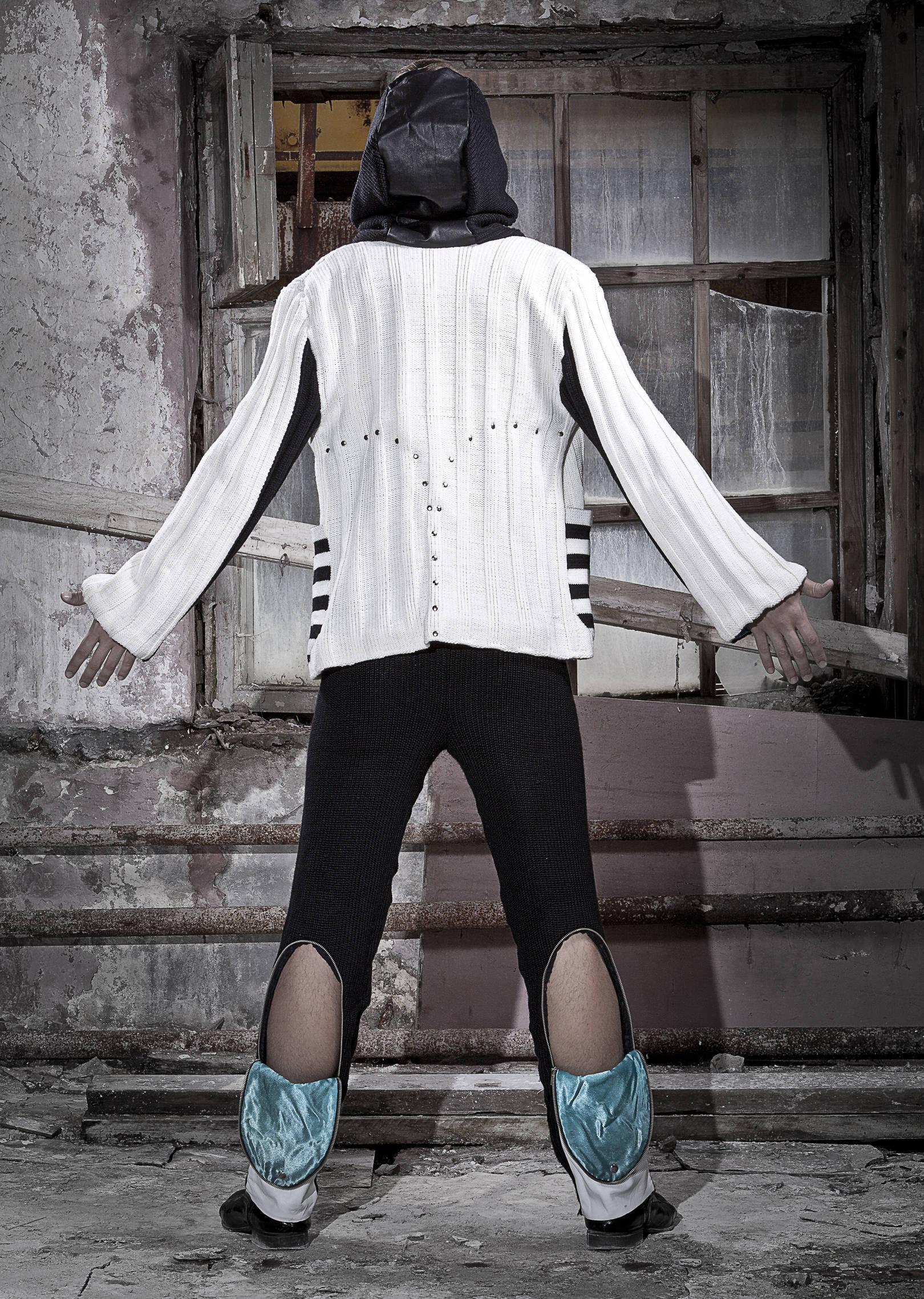 """Мужская трикотажная коллекция одежды """"Электронные метаморфозы"""""""