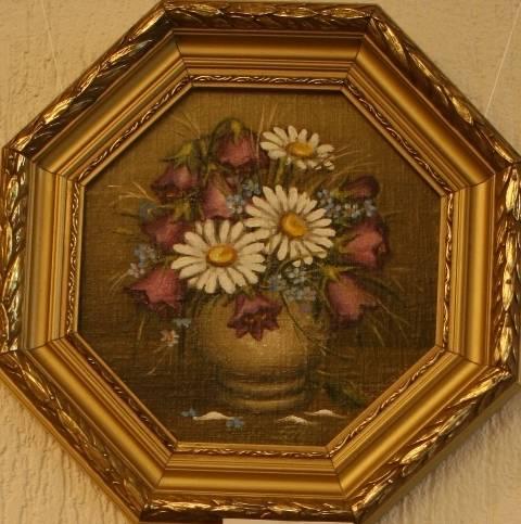 Полевые цветы (холст,масло)-художник Ядвига Сенько