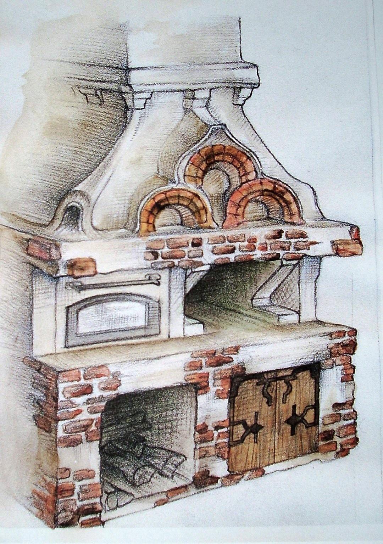 Картинки русской печки для срисовки