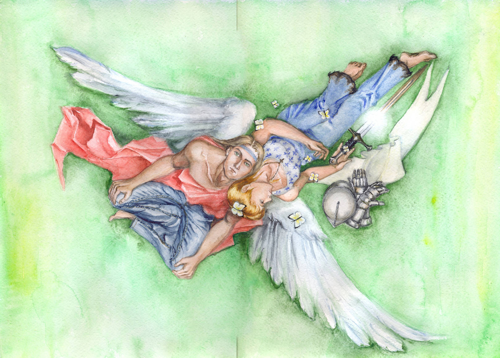 Жанна д'Арк и архангел Михаил