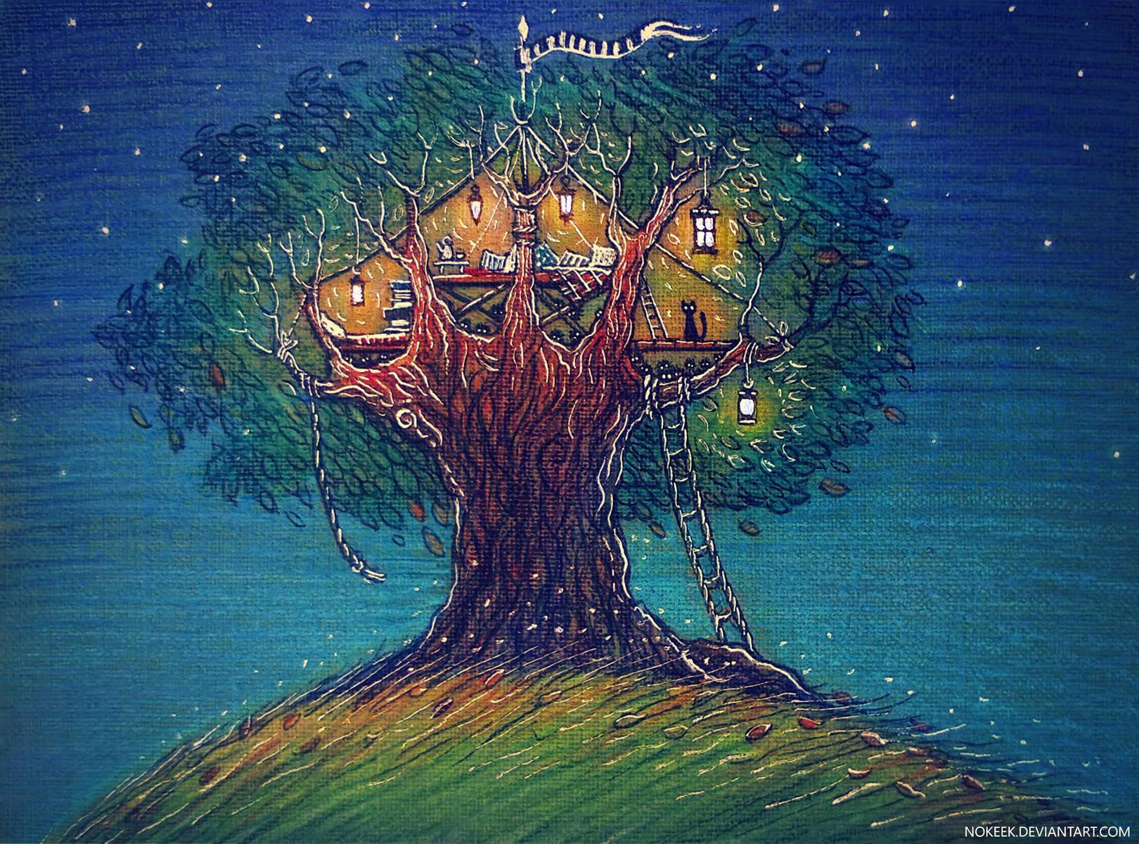 Дерево-дом