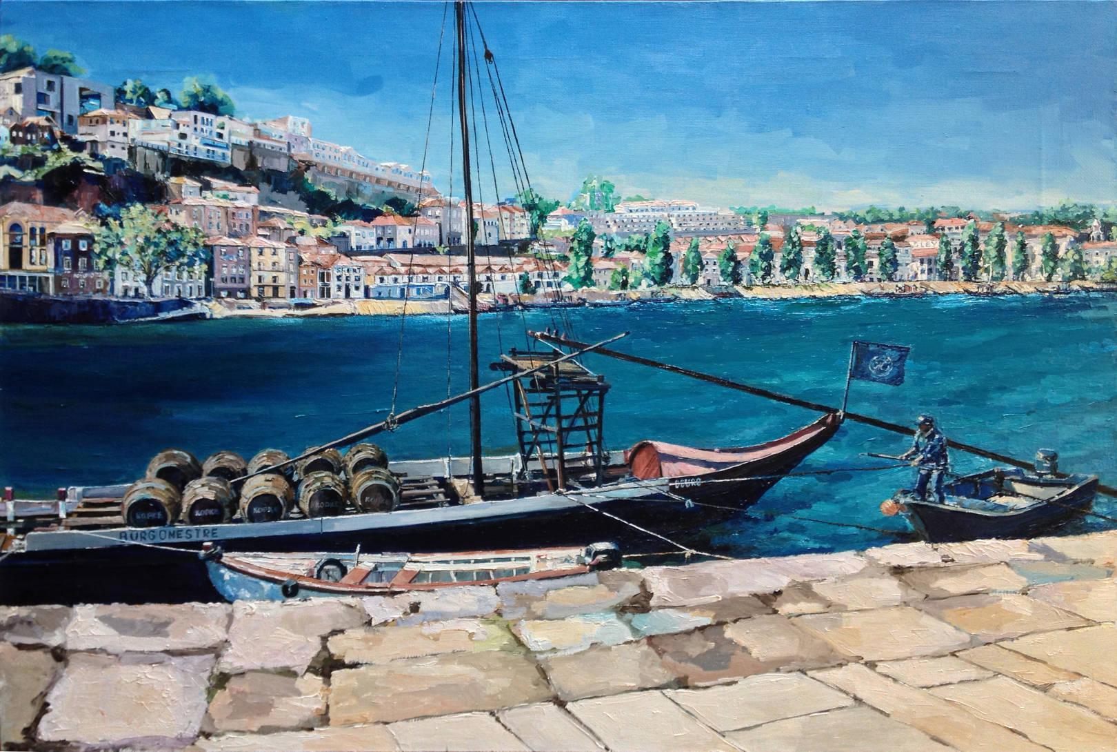 Порту. Португалия. х.м.,60х90, 2014 г.
