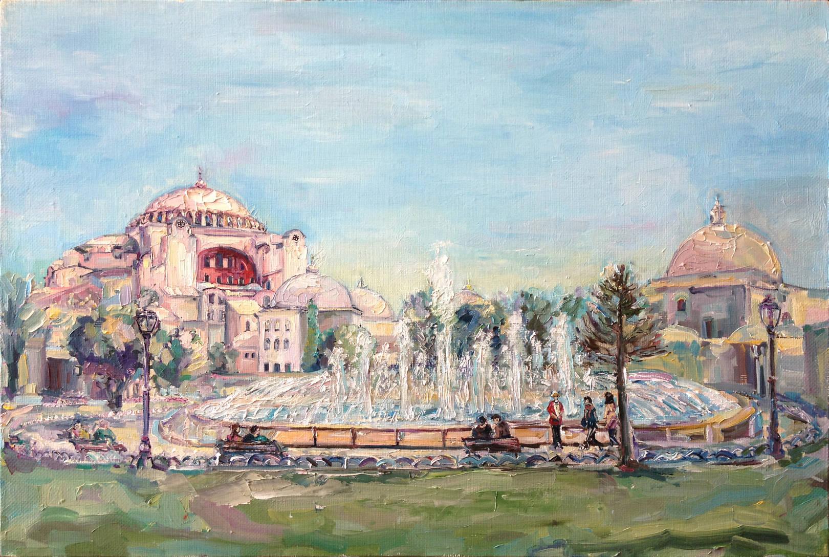 Стамбул. х.м., 40х60, 2013 г.