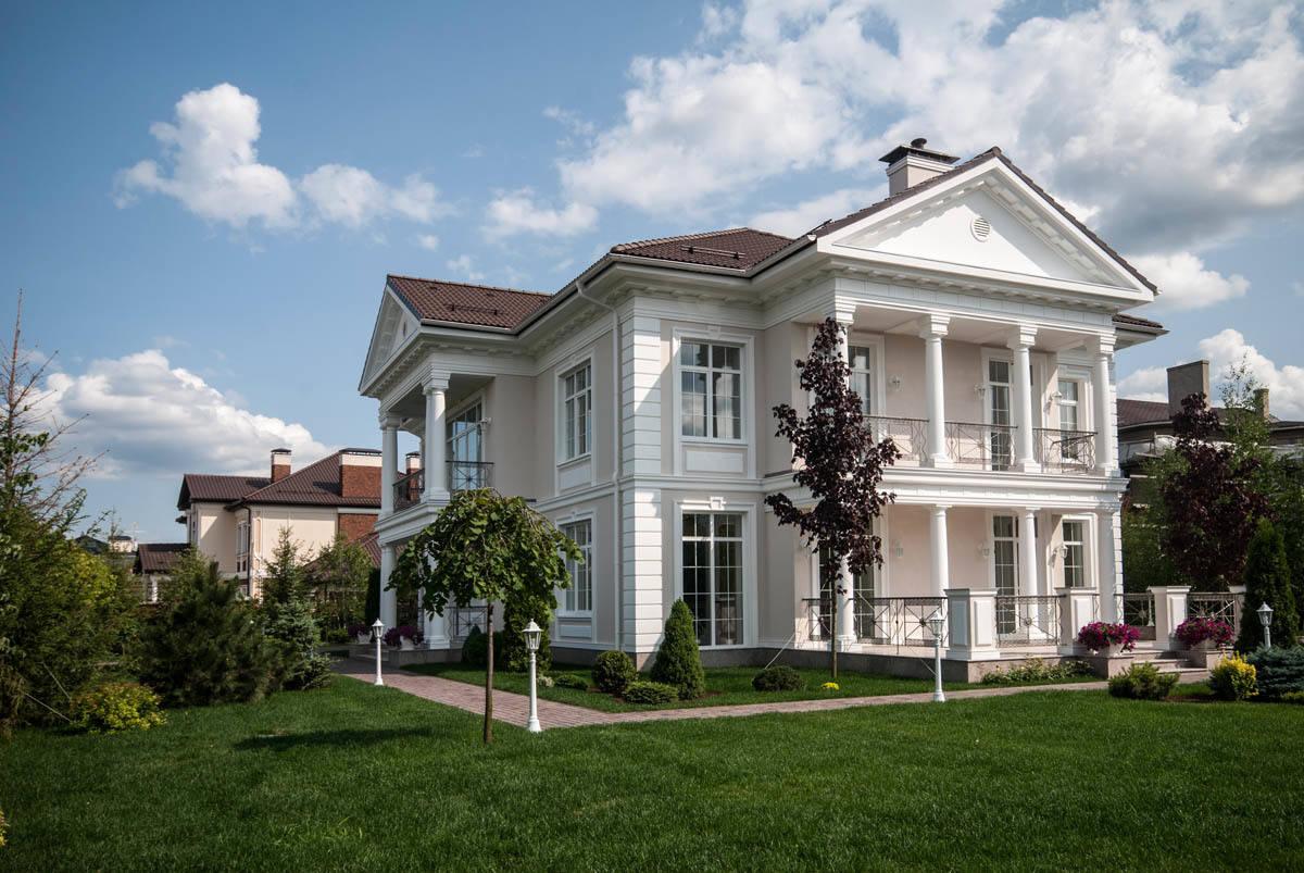 дом в Гринфилде (фасады)