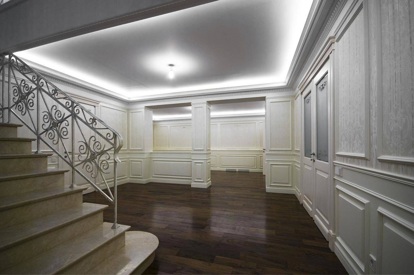 реконструкция дома (интерьер)
