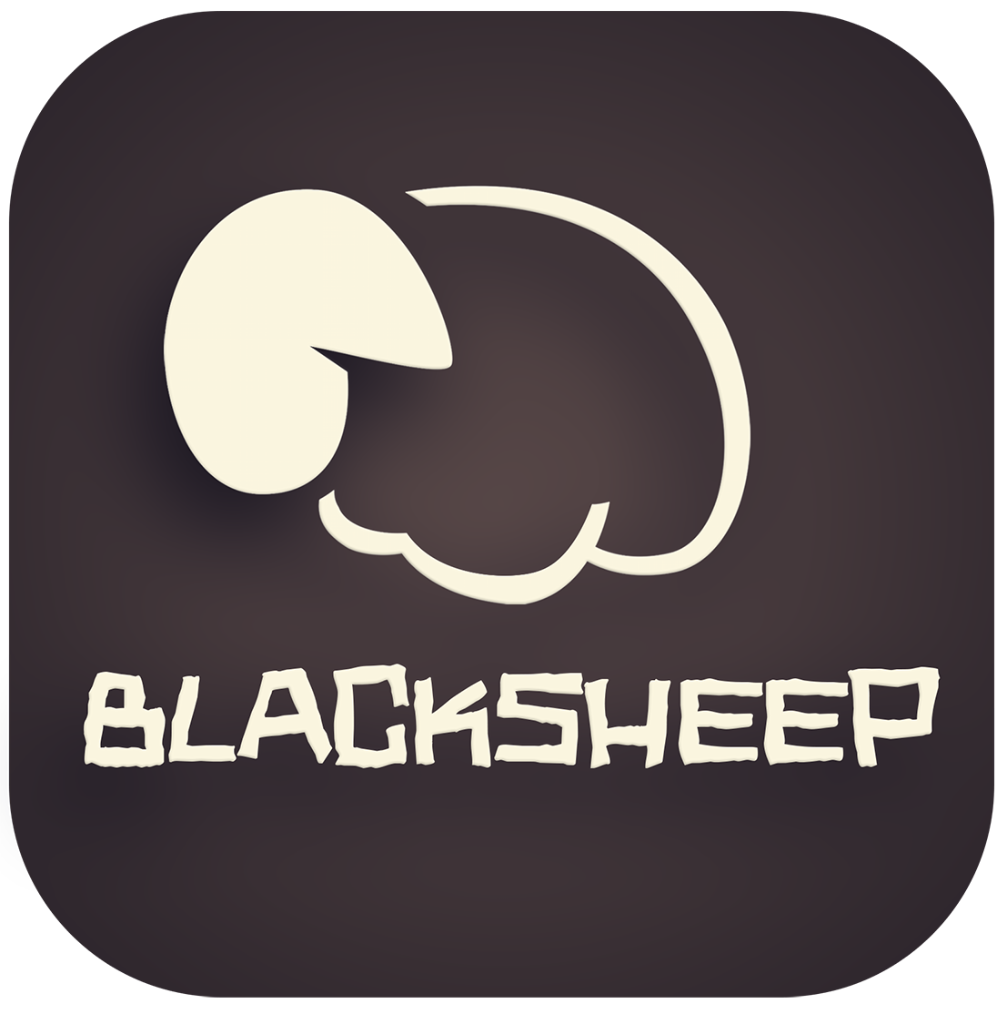 Логотип рок группы BLACKSHEEP
