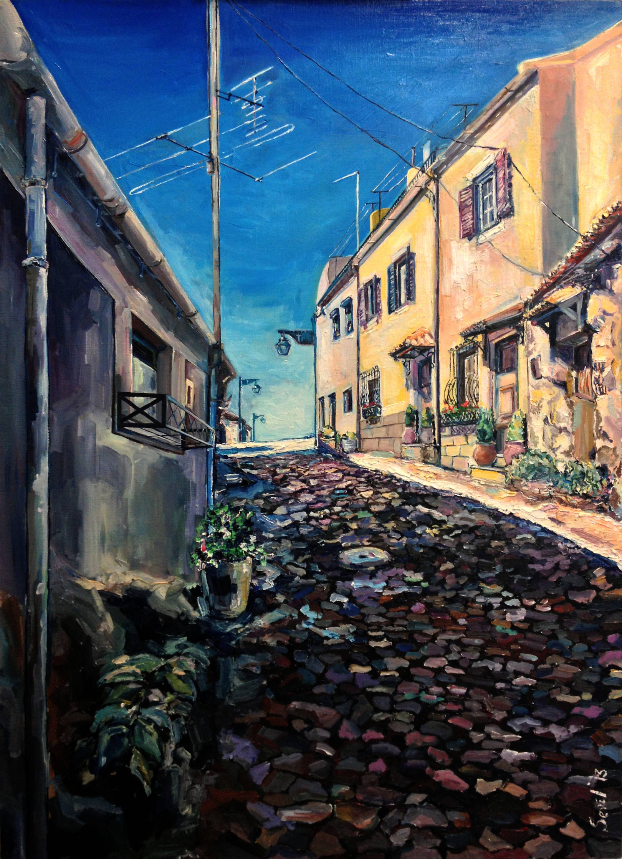 Транкосо. Португалия. х.м.,50х70, 2013 г.
