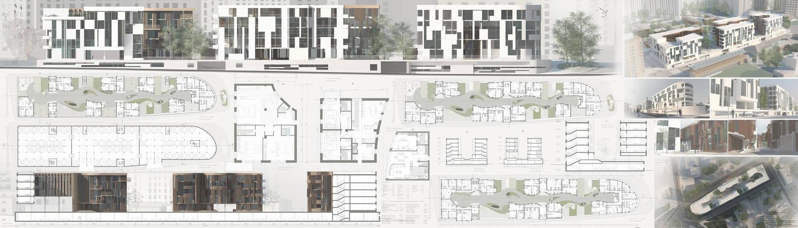 проект.малоэтажный жилой дом.Москва , на улице новосущевская