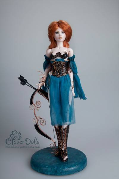 My porcelain BJD (bolljointed dolls)