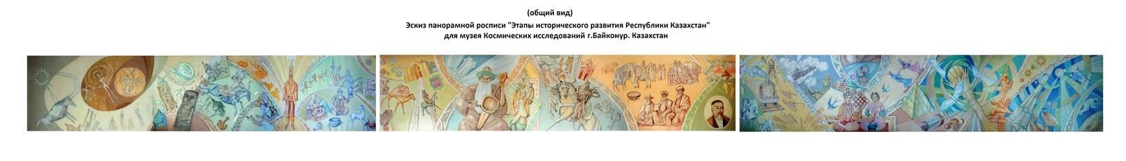 Эскиз. Этапы исторического развития Республики Казахстан