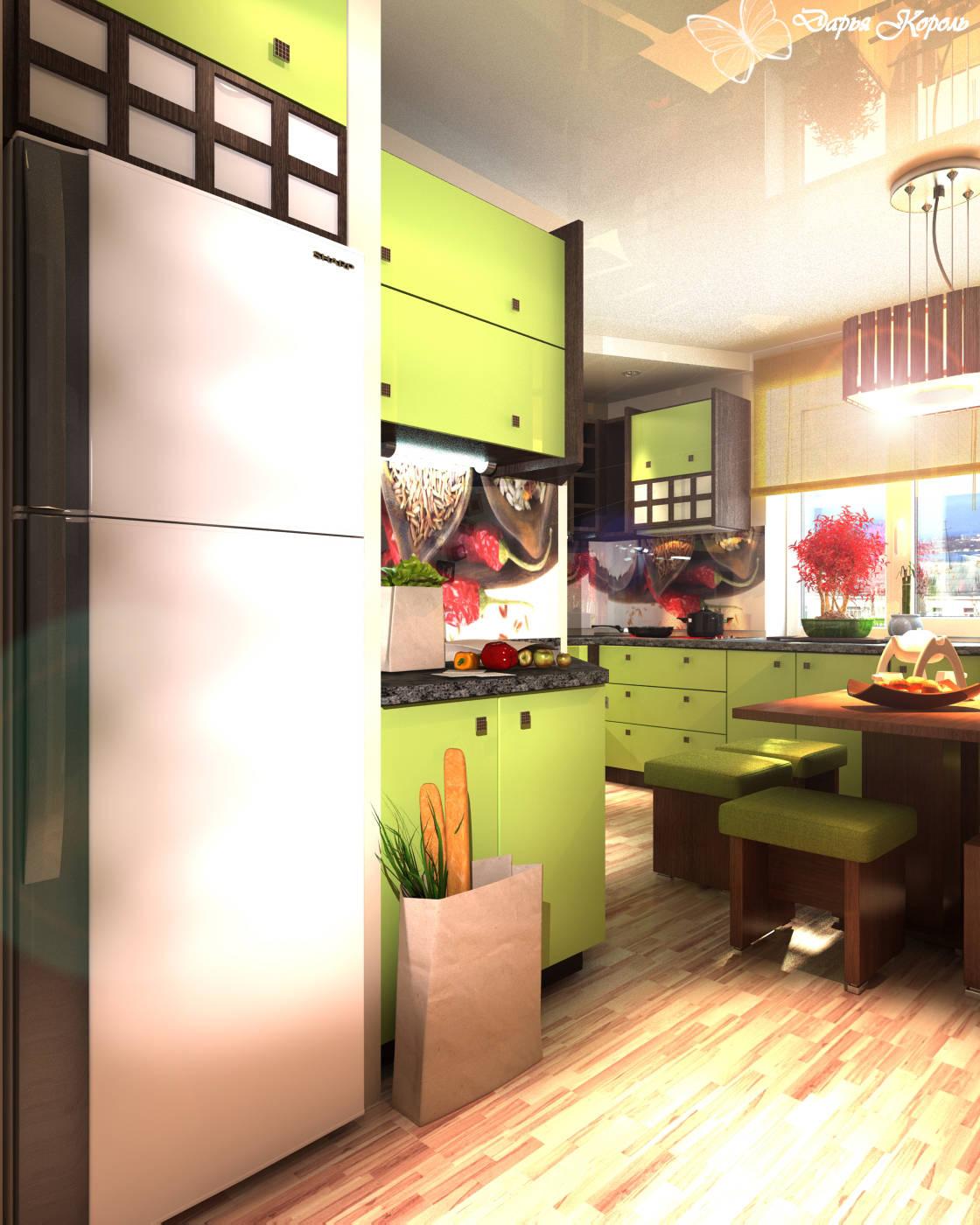 Кухня где любят готовить суши=)