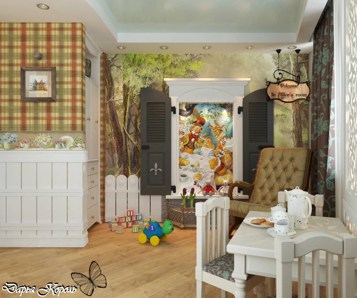 """Детская комната """"Алиса в стране чудес"""""""
