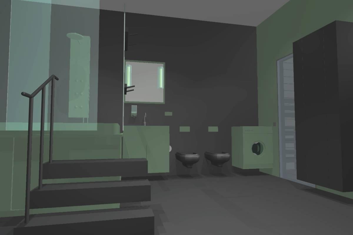Ванная комната.1этаж.