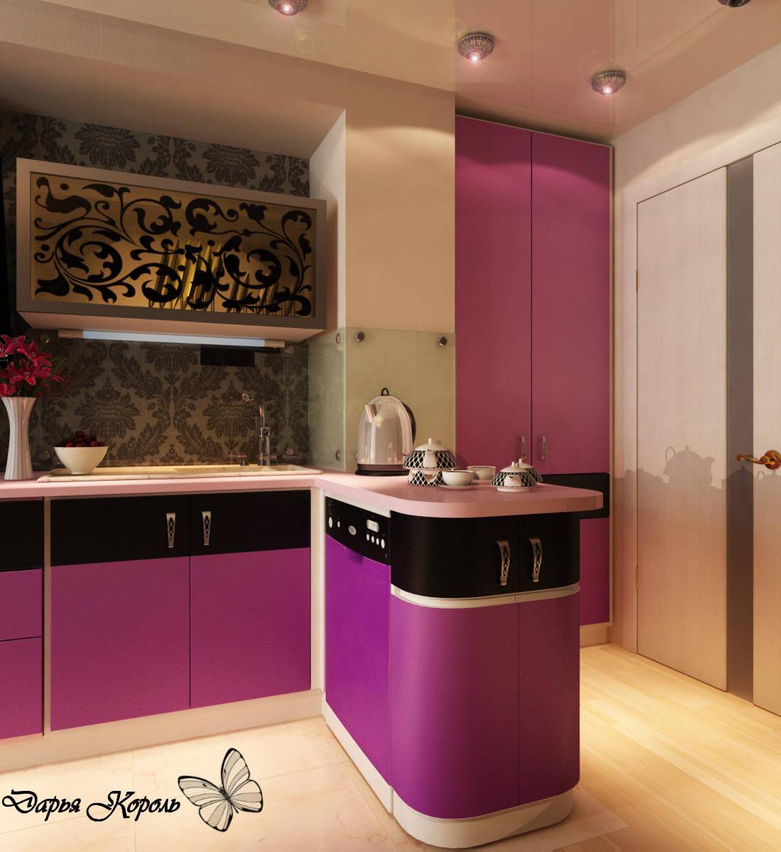 Кухня для бизнес-леди