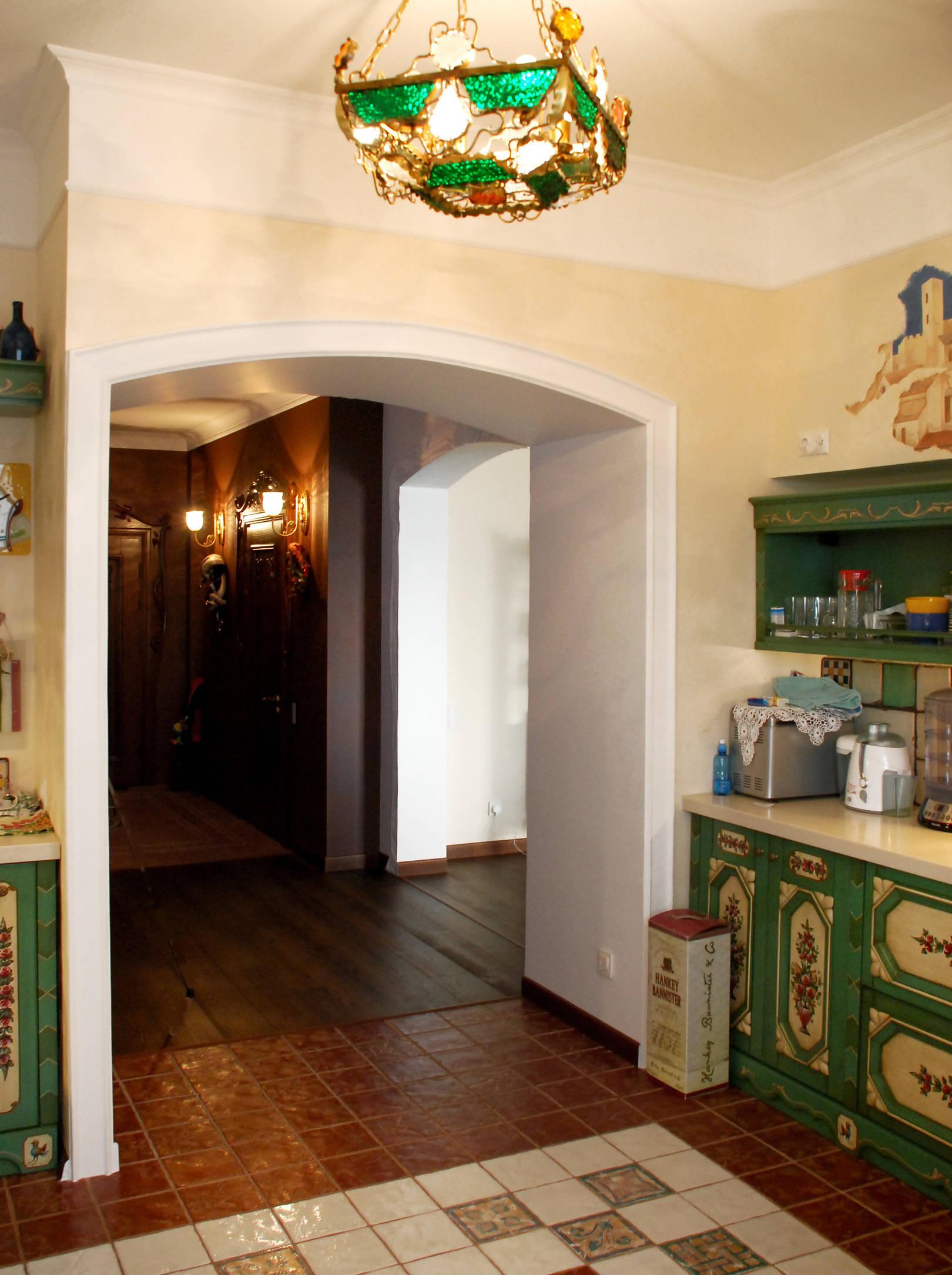 вход на кухню