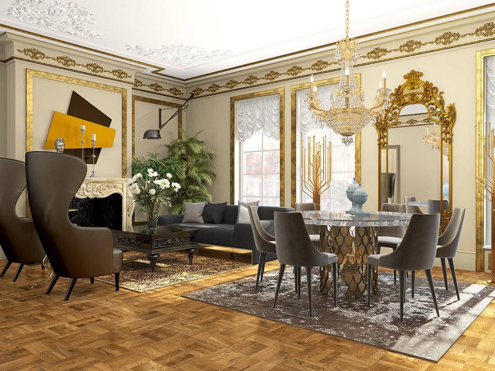 """Дизайн квартиры в комплексе """"Царская столица"""""""