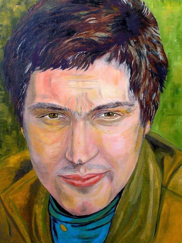 Портрет мужчины, холст, масло, 40*30, 2010 г