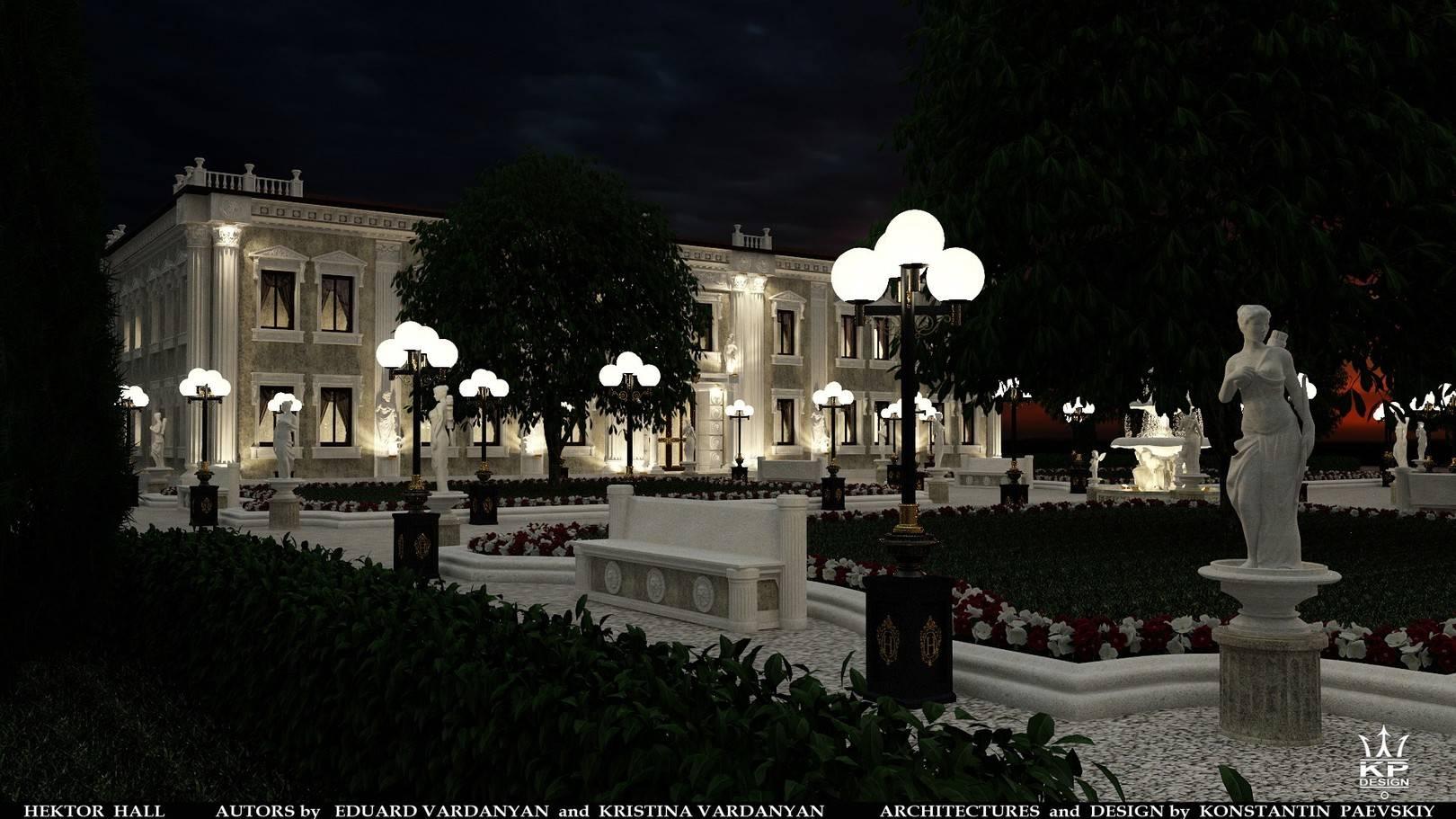 "проект Концертный комплекс ""HEKTOR HALL"""