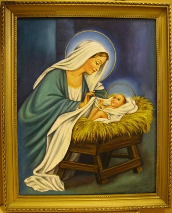Рождество Христово (холст,масло)