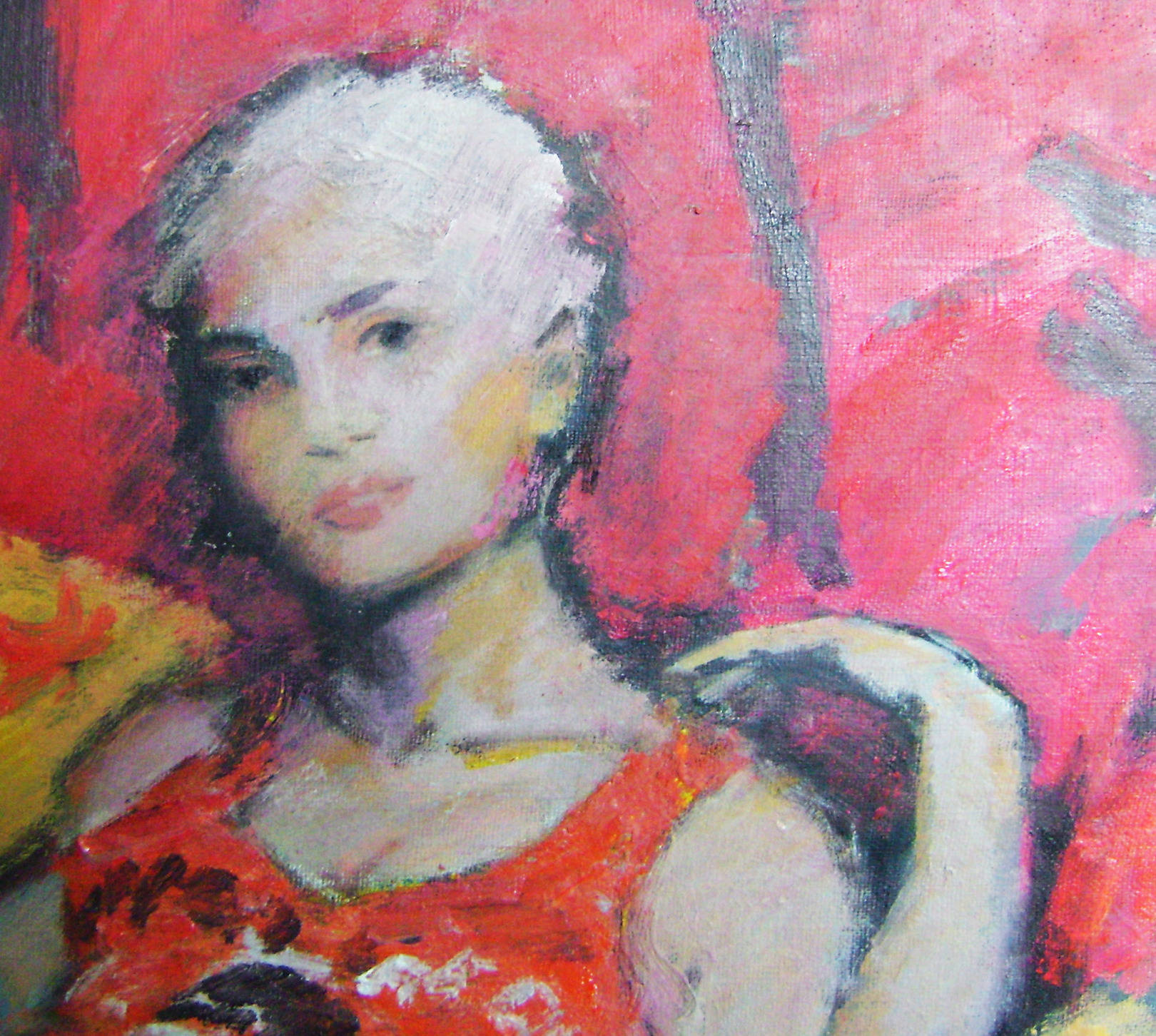 girl in a chair (fragment)