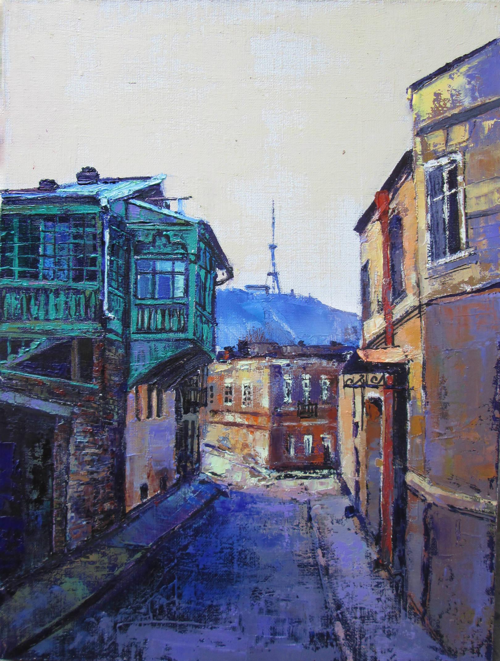 Тбилиси.Маленькая серенада мастихином.