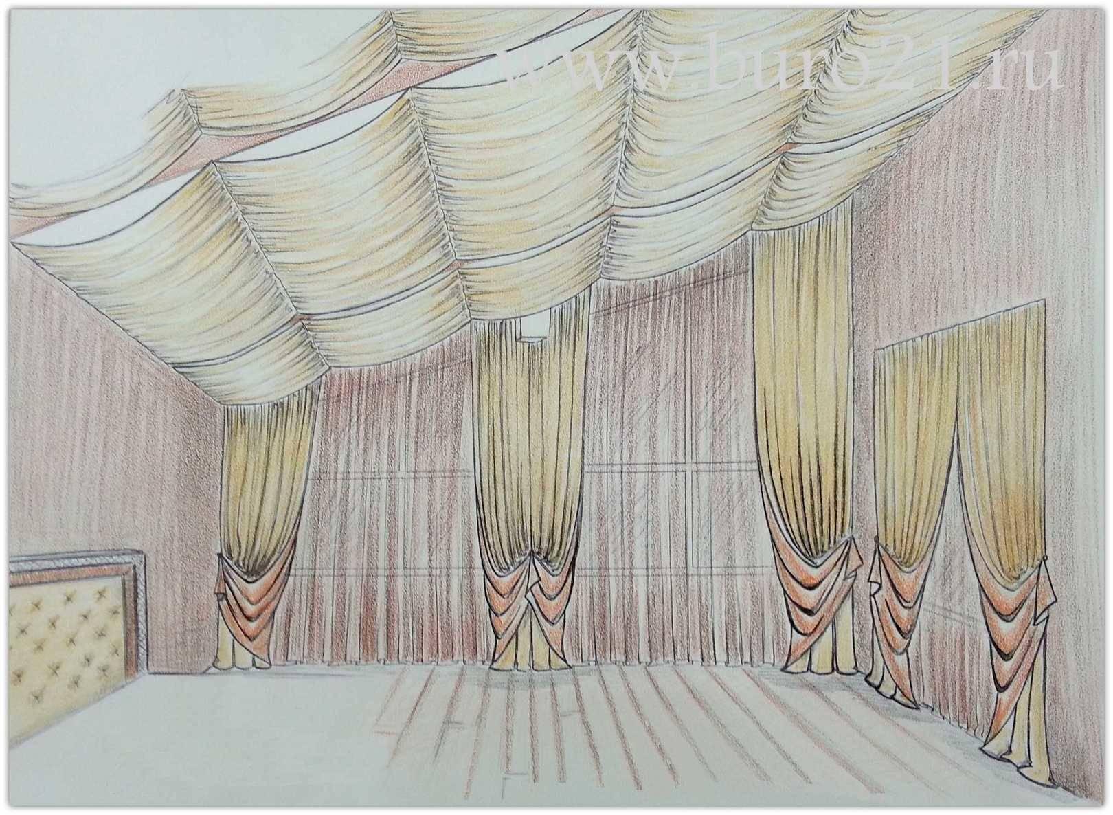 индивидуальный пошив штор москва