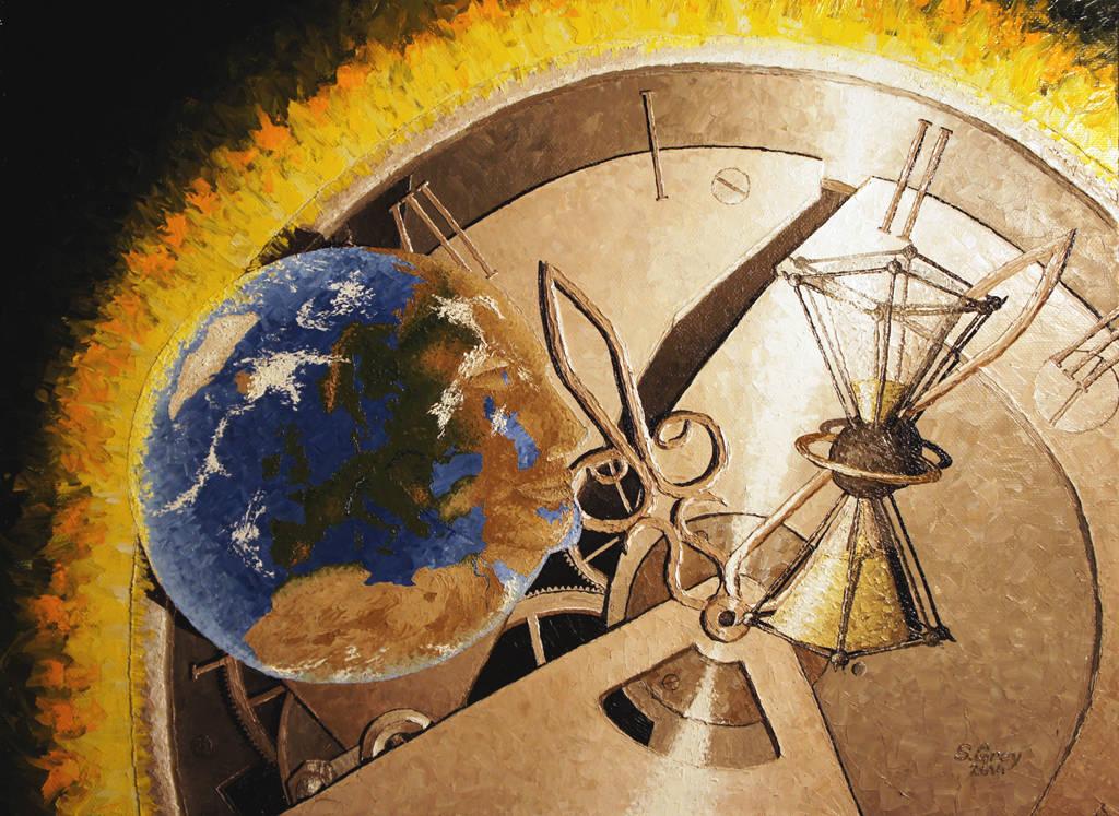 Время, 80х60 см., масло, холст, 2014