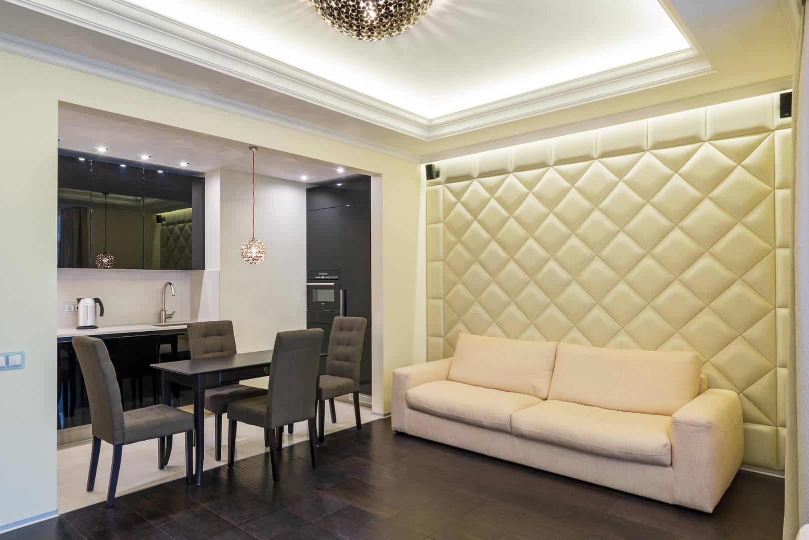 "Interior design оа apartments in the residential complex ""Dominion"""