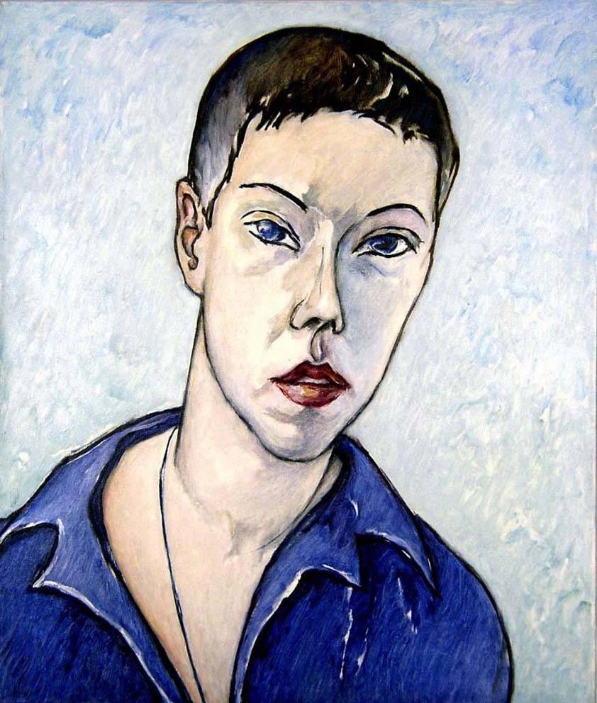 . Автопортрет х.м. 65х55 2003