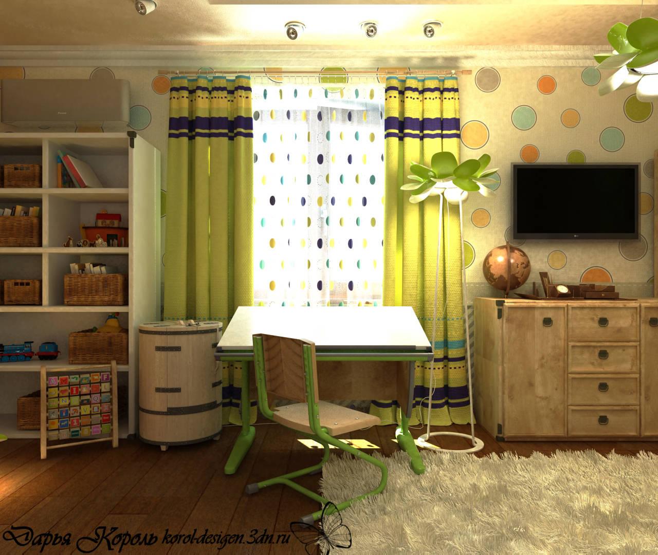 Єко детская комната