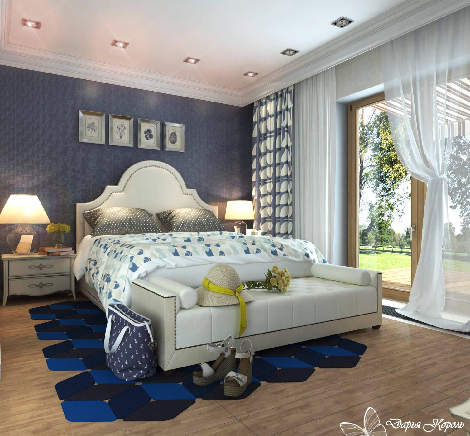 Спальня Нежная Франция