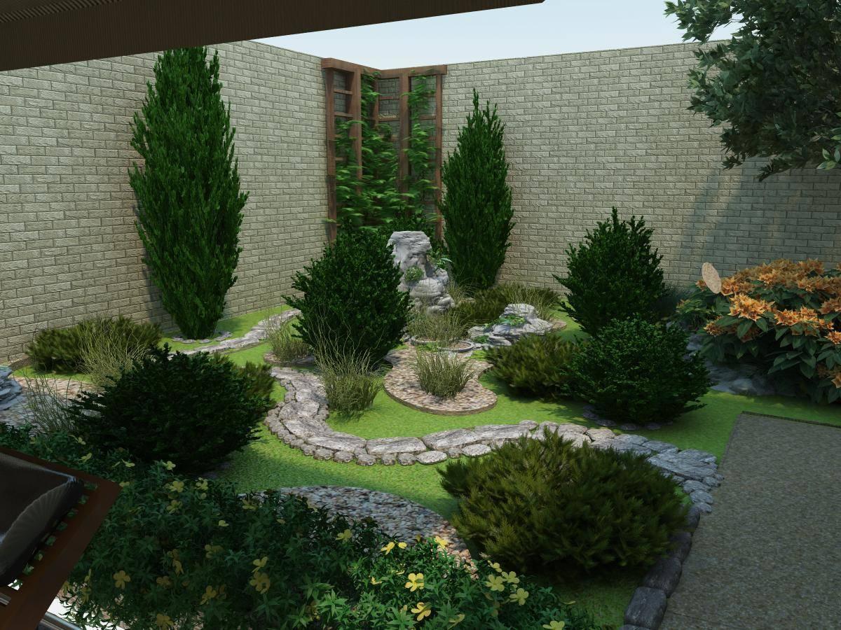Ландшафтный дизайн придомовой территории жилого дома