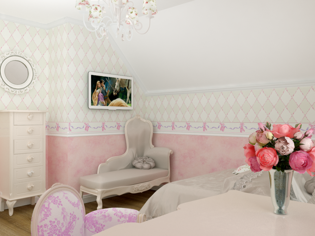 Детская спальня для девочки
