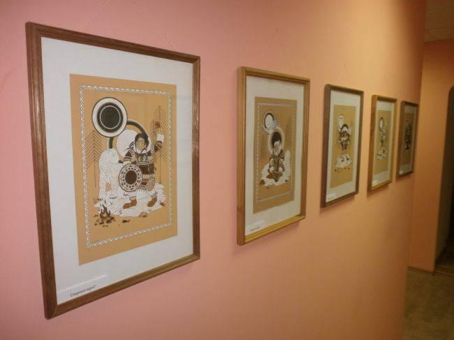 """Иллюстрации были представлены на моей персональной выставке """"Калейдоскоп"""" 2013 - 2014."""