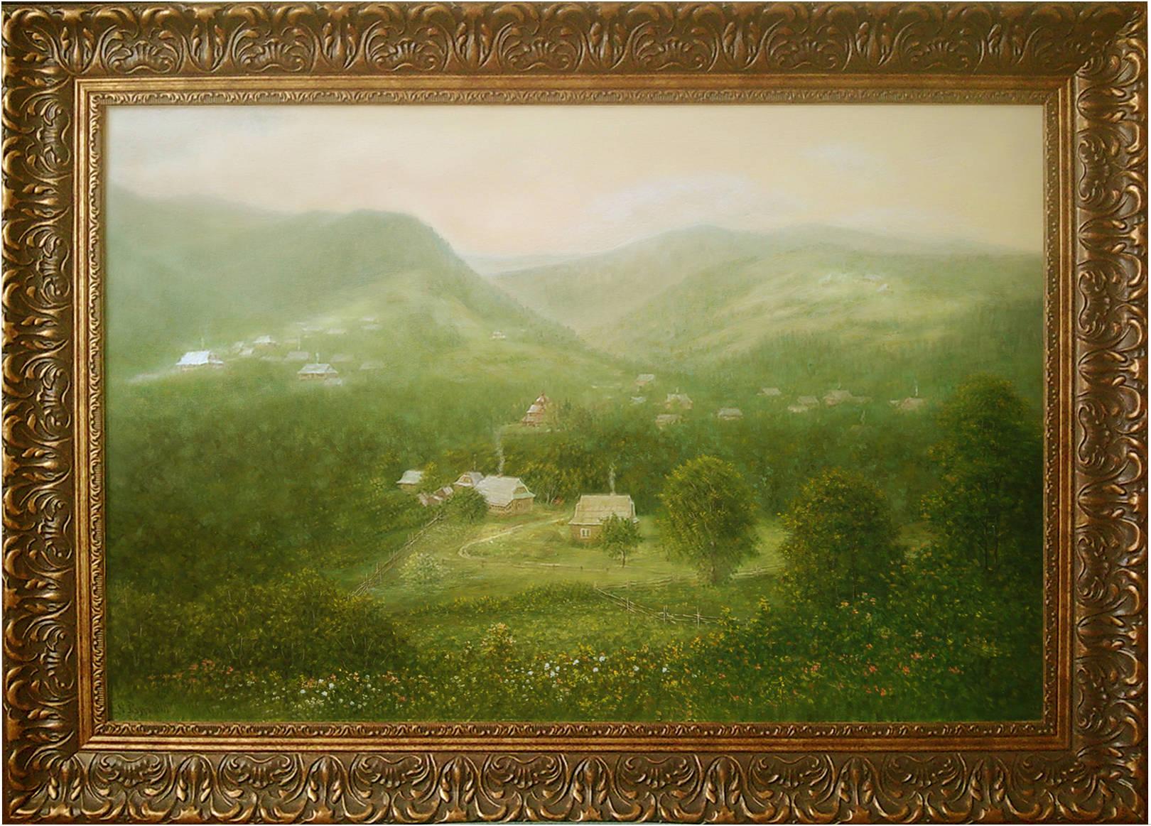 '' Iwill go to distant mountains ... '60x90 oil on canvas 2013    ''Я піду в далекі гори ...'' 60х90 полотно,олія 2013