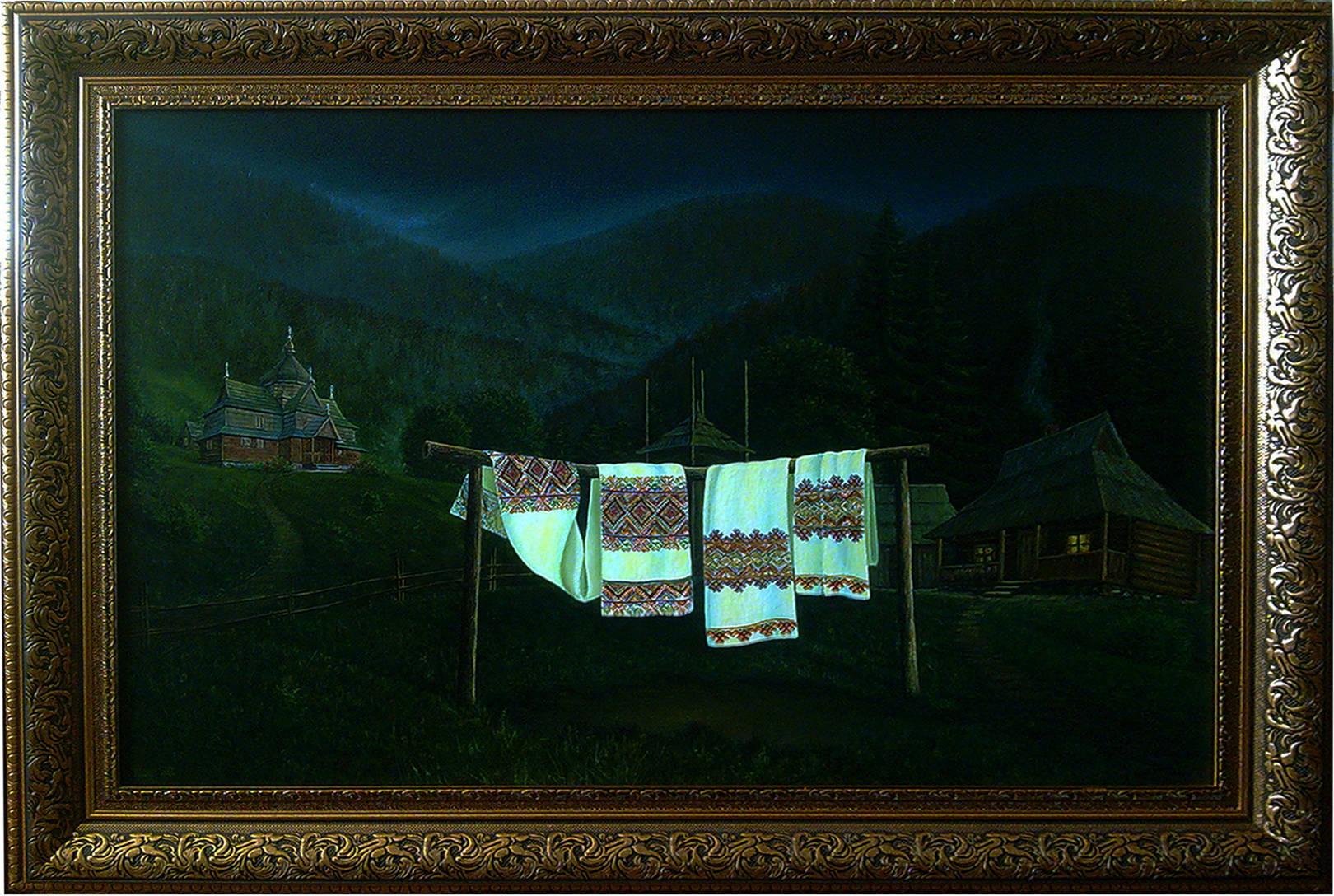 """""""Two Fates ..."""" 60x90 oil on canvas 2013    """"Дві долі..."""" 60х90 полотно,олія 2013"""