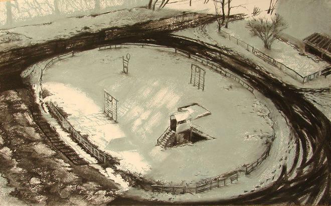 ,,Мягко укрывая снегом ,, Живой пока отдаёшь...Колодцы.,,