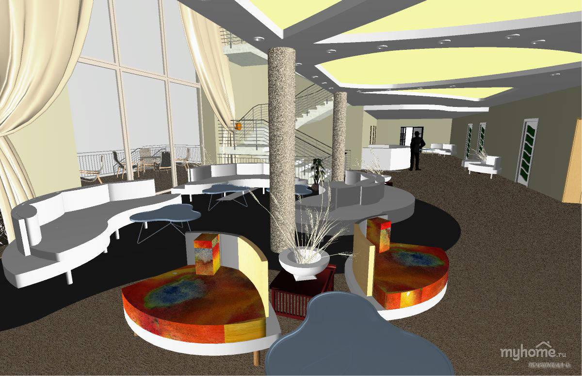Эскизы дипломного проекта гостиницы