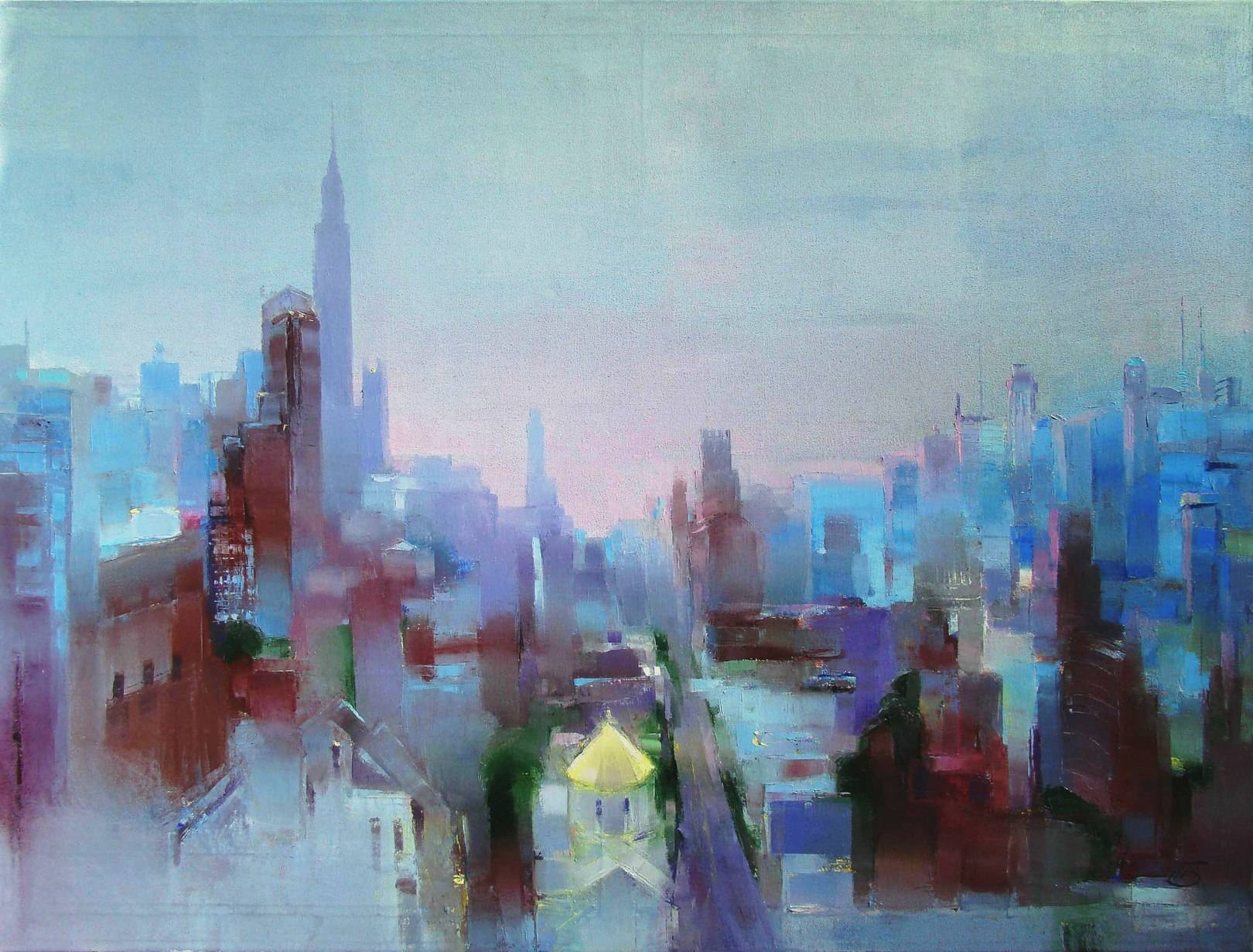 Закат в Манхеттене