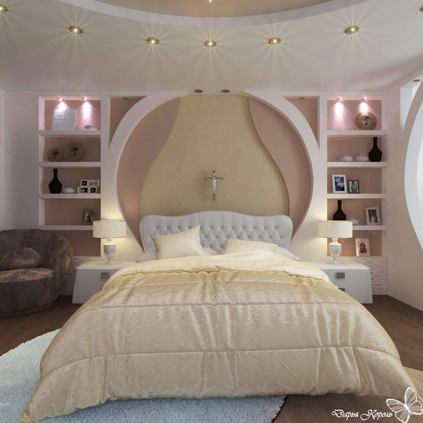 Спальня и звездное небо