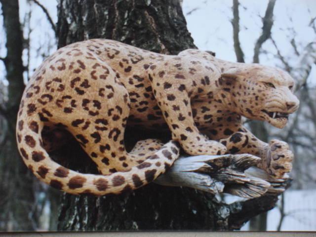 Угроза леопарда, 75 см.