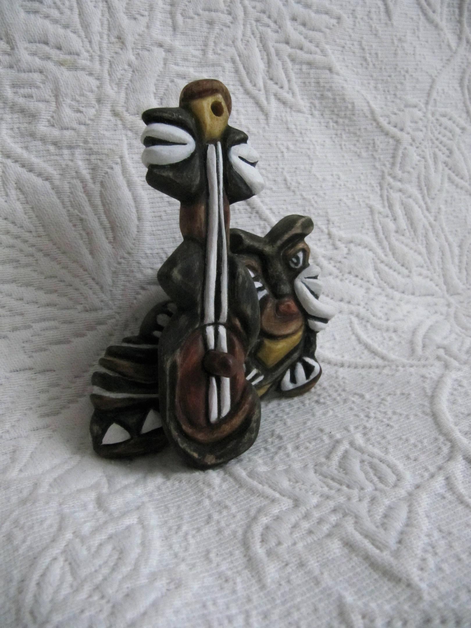 Джаз-Кот (елочная игрушка)
