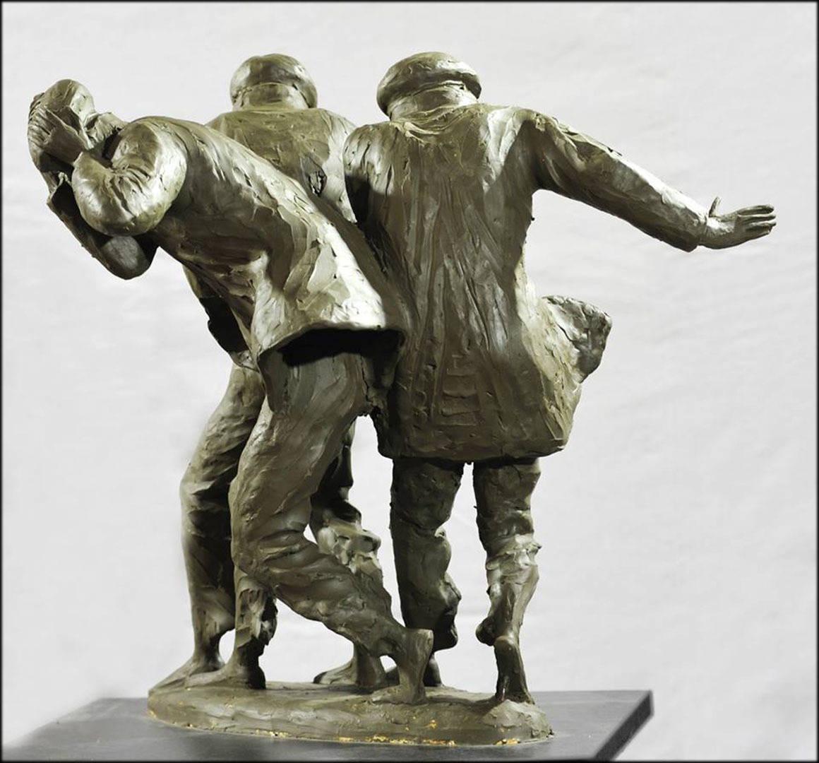 .BAKU WIND 2014 YEAR bronza 70x65x55 sm  15000 $