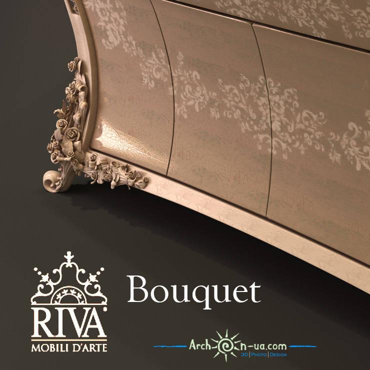 3d model of Riva Mobili D'Arte Bouquet series