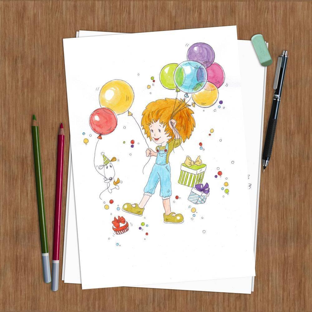 Happy birthday (с днем рождения !)