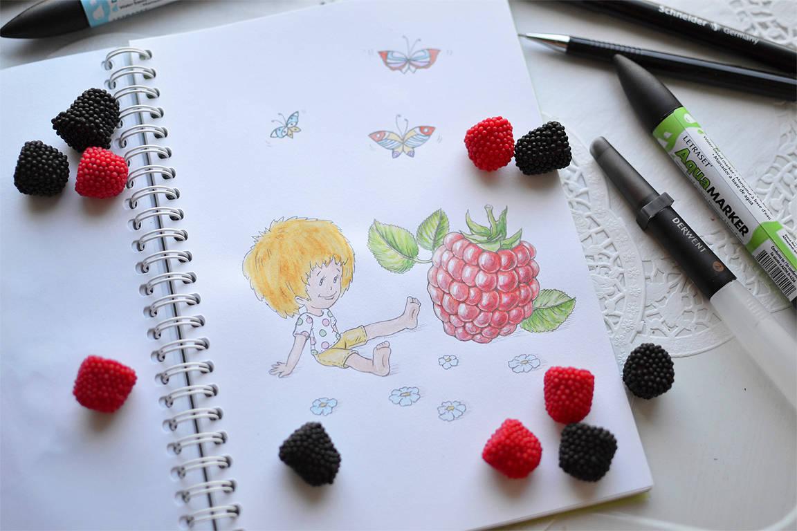 Fresh raspberry (свежая малина)